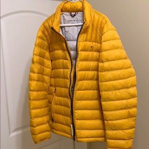 The Tommy Hilfiger puffer jacket is sensible.